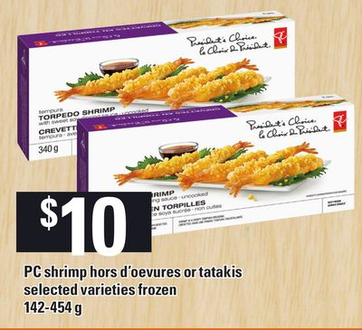 PC Shrimp Hors D'oevures Or Tatakis - 142-454 g