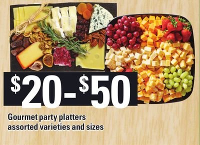 Gourmet Party Platters