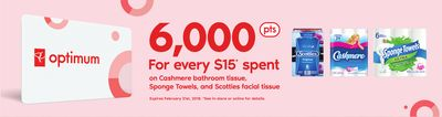 Cashmere Bathroom Tissue - Sponge Towels - And Scotties Facial Tissue