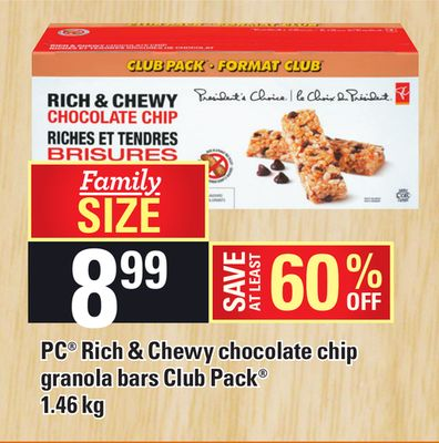 PC Rich & Chewy Chocolate Chip - 1.46 Kg