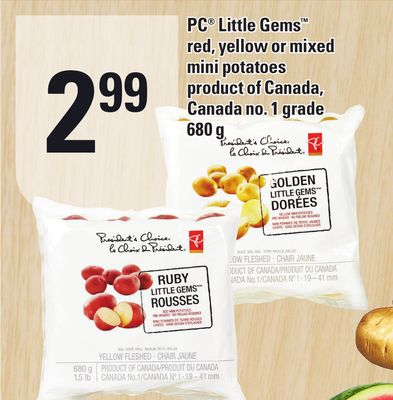 PC Little Gems Red - Yellow or Mixed Mini Potatoes 680 g