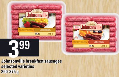 Johnsonville Breakfast Sausages - 250-375 g