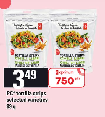 PC Tortilla Strips 99 g