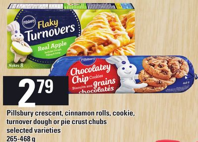 Pillsbury Crescent - Cinnamon Rolls - Cookie - Turnover Dough Or Pie Crust Chubs - 265-468 g