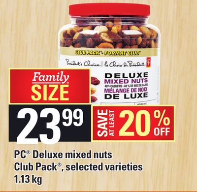 PC Deluxe Mixed Nuts - 1.13 Kg