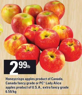 Honeycrisps Apples