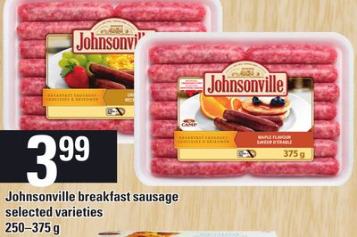Johnsonville Breakfast Sausage - 250–375 g