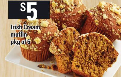 Irish Cream Muffin - Pkg Of 6