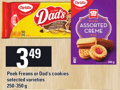 Peek Freans Or Dad's Cookies - 250-350 g