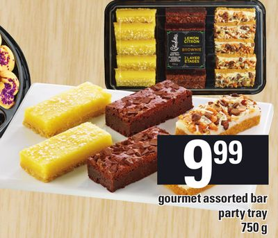 Gourmet Assorted Bar Party Tray 750 g