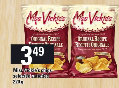 Miss Vickie's Chips - 220 g