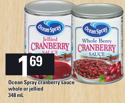 Ocean Spray Cranberry Sauce - 348 mL