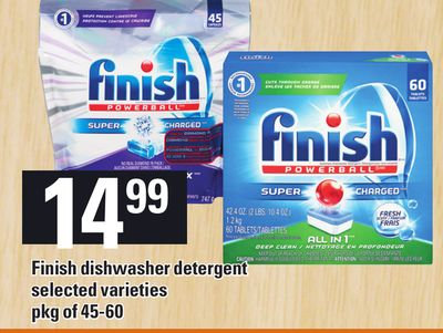 Finish Dishwasher Detergent - Pkg Of 45-60