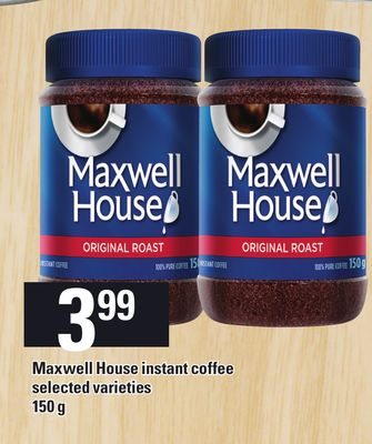 Maxwell House Instant Coffee - 150 g