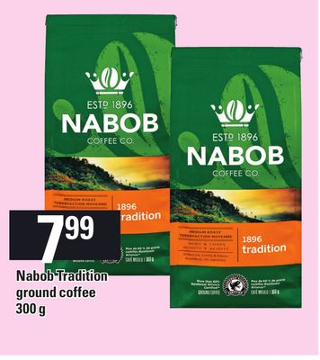 Nabob Tradition Ground Coffee 300 G