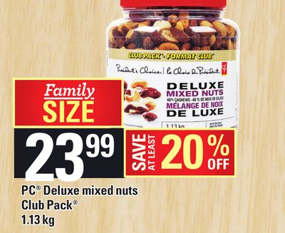 PC Deluxe Mixed Nuts Club Pack