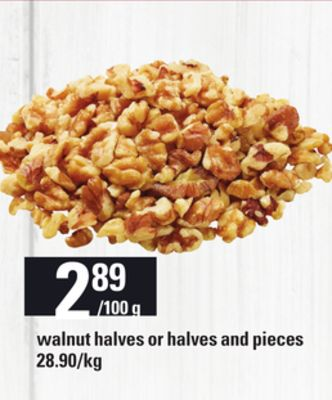 Walnut Halves Or Halves And Pieces on sale | Salewhale.ca