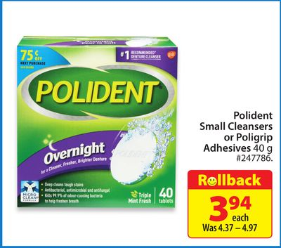 how to use polident adhesive