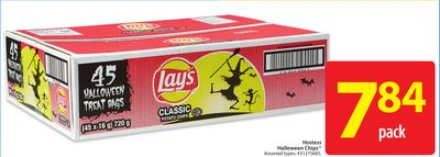 Lay's Hostess Halloween Chips