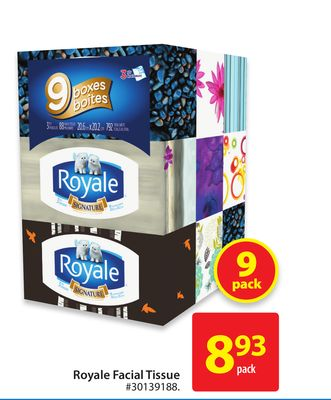 Royale Facial Tissue