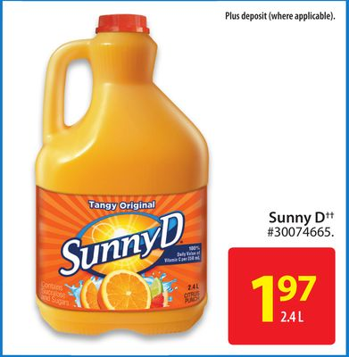 Buyout Firm Brynwood Partners to Buy Sunny D Beverage ...
