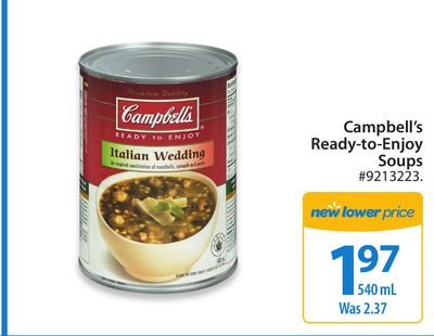 Campbell's Ready-to-enjoy Soups