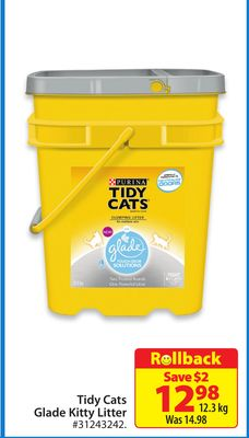 Tidy Cats Glade Kitty Litter