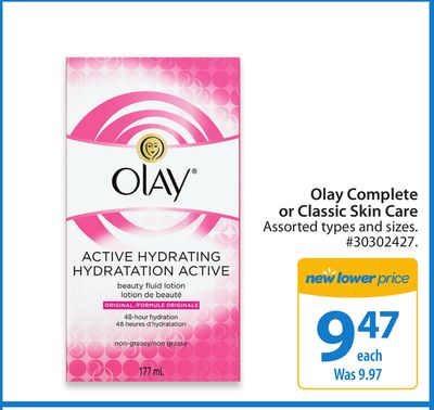 Olay Complete New Lower Prices Or Classic Skin Care