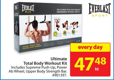 Ultimate Total Body Workout Kit