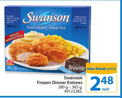 Swanson Frozen Dinner Entrees