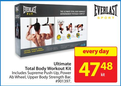 Everlast Ultimate Total Body Workout Kit