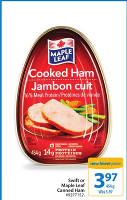 Maple Leaf Canned Ham