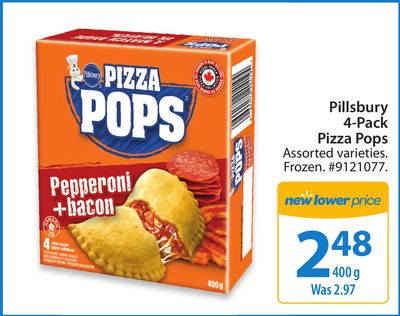Pillsbury 4-pack Pizza Pops