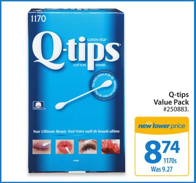 Q-tips Value Pack