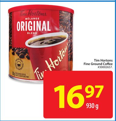 Tim Hortons Fine Ground Coffee