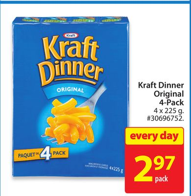 Kraft Dinner Original 4-pack