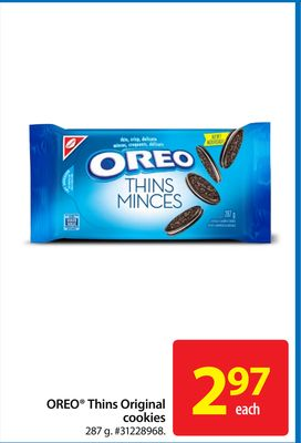 Oreo Thins Original Cookies