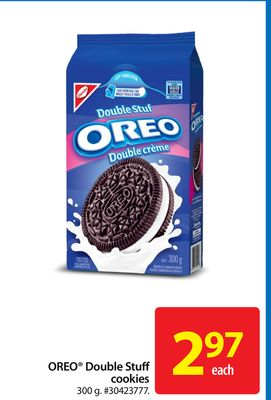 Oreo Double Stuff Cookies