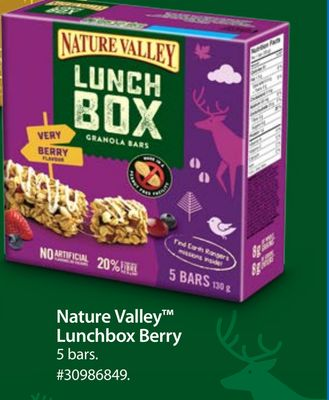 Nature Valley Lunchbox Berry