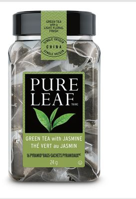 Pure Leaf Bags 16 Count - Green Tea With Jasmine
