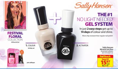 Sally Hansen Miracle Gel Duo