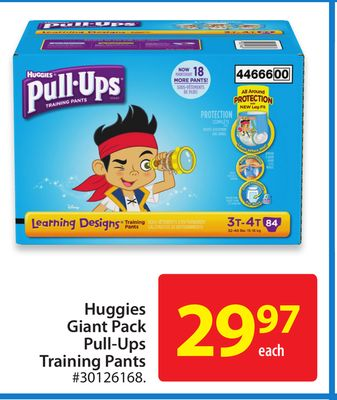 Huggies Giant Pack Pull-Ups Training Pants