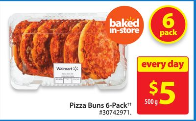 Pizza Buns 6-pack