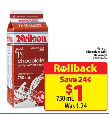 Neilson Chocolate Milk Beverage