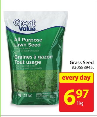 Great Value Grass Seed
