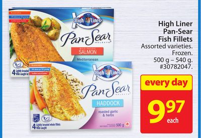 High Liner Pan-sear Fish Fillets