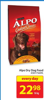 Purina Alpo Dry Dog Food