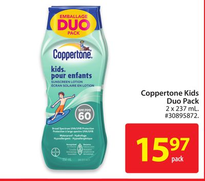 Coppertone Kids Duo Pack