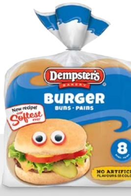 Ben's White Hamburger Buns