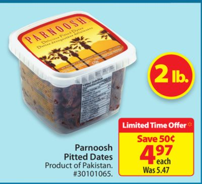 Parnoosh Pitted Dates